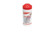 Red Sani-Cloth 70 Alcohol Based Disinfectant Wipes